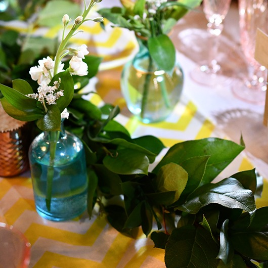greenery garland for country wedding