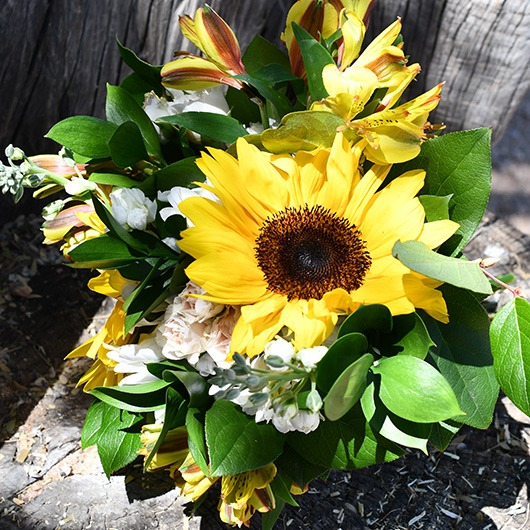 maid of honor sunflower